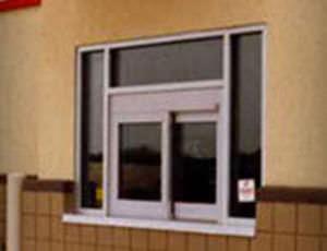 Laboratory window / hospital / sliding / automatic Drive-Thru Horton Doors ... & Laboratory window / hospital / sliding / automatic - Drive-Thru ... Pezcame.Com