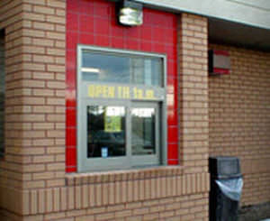 laboratory window / hospital / sliding / automatic 8300 Horton Doors & Laboratory window / hospital / sliding / automatic - 8300 - Horton Doors