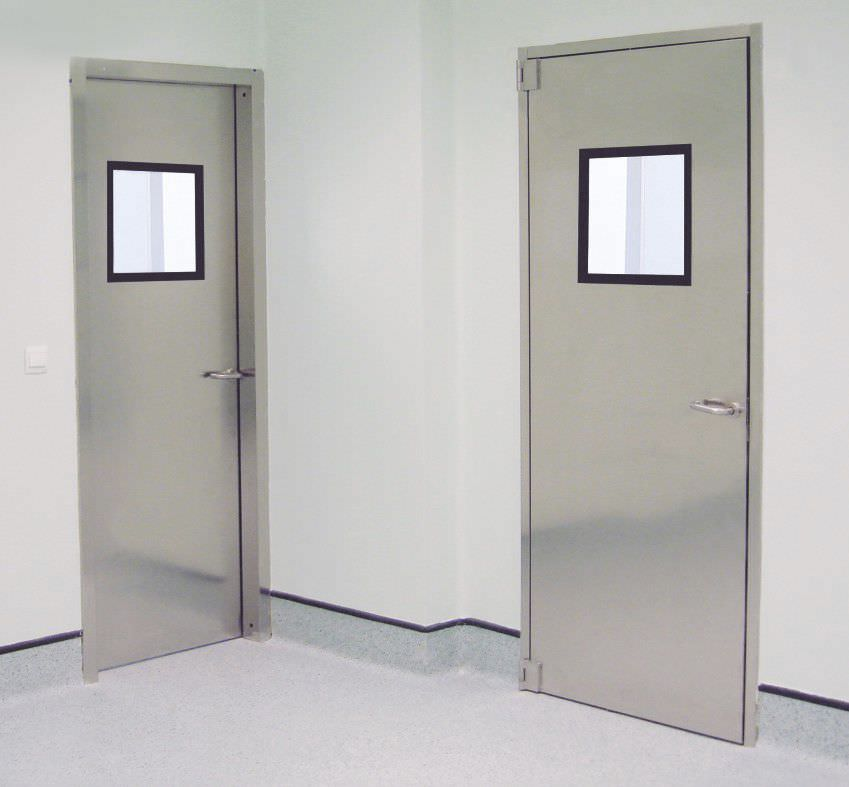 hospital door / laboratory / for the pharmaceutical industry / swing ... & Hospital door / laboratory / for the pharmaceutical industry / swing ...
