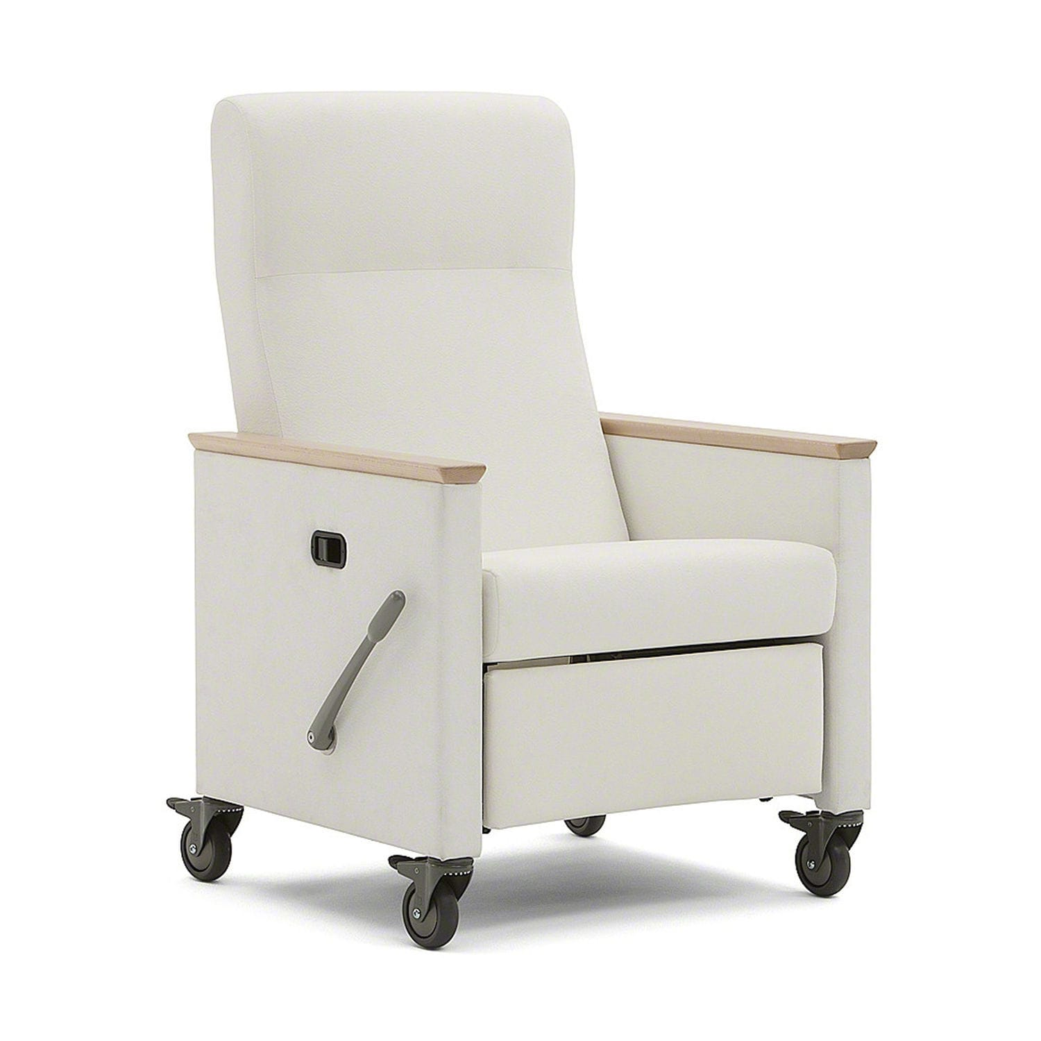 Reclining patient chair on casters manual Mineral™ Nurture