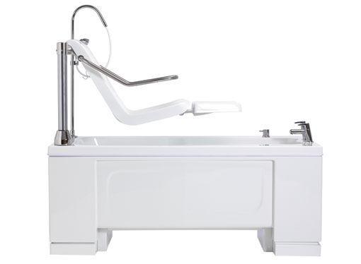 Electric medical bathtub / with lift seat - Alera - Gainsborough Baths