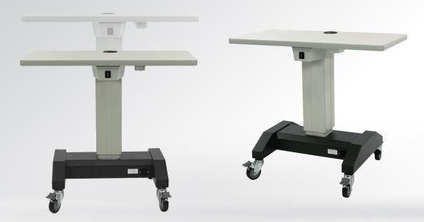 Electric Ophthalmic Instrument Table / On Casters / Height Adjustable    Atlas H Base