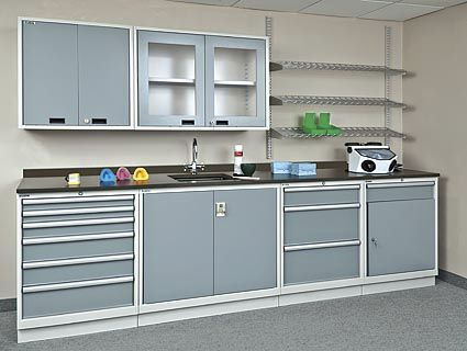 Storage Cabinet / For Dental Instruments / For Dental Laboratories / With  Drawer