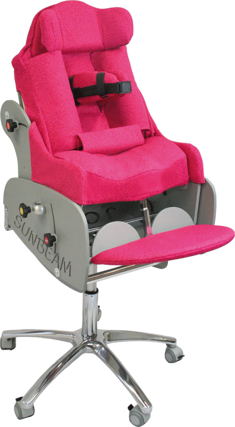 Reclining Patient Chair / On Casters / Pediatric   Sunbeam