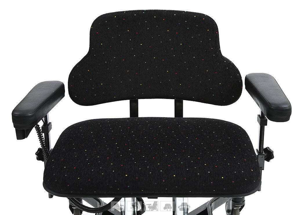 Office Chair With Armrests On Casters Bariatric