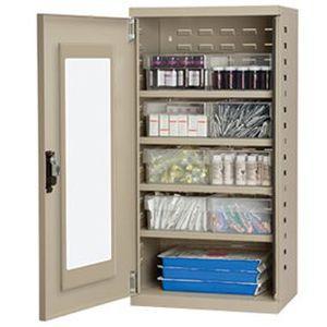 Storage Cabinet Medicine Hospital Akrodrawers Stackable Cabinets Akro Mils