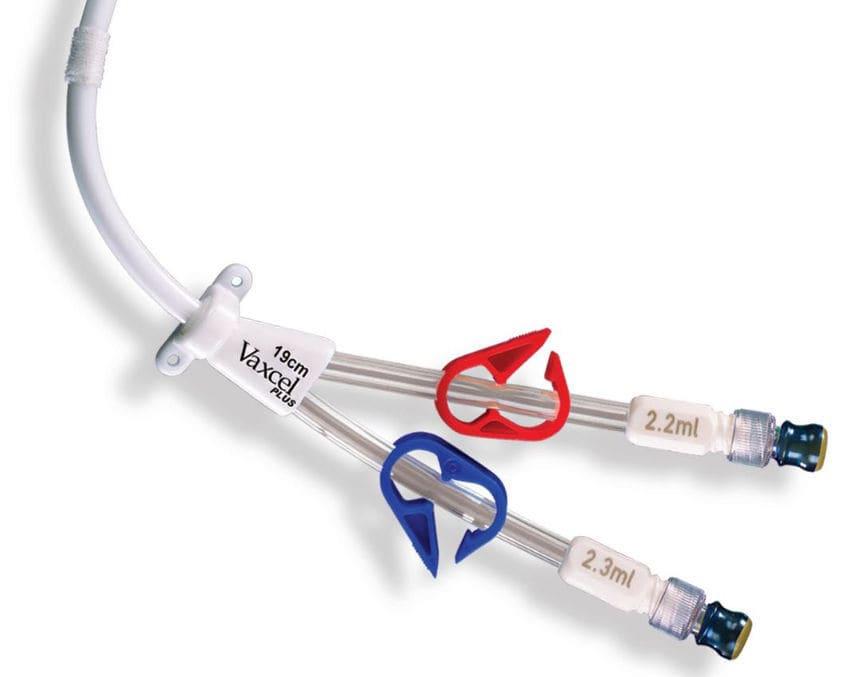 Hemodialysis catheter / venous / permanent / double-lumen - Vaxcel ...