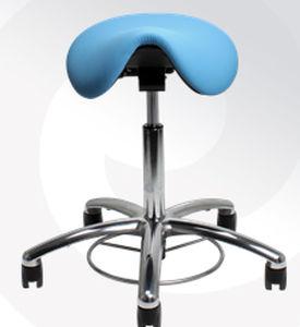 Laboratory stool / height-adjustable / saddle seat / on casters - Samba 400 & Laboratory stool / height-adjustable / saddle seat / on casters ... islam-shia.org