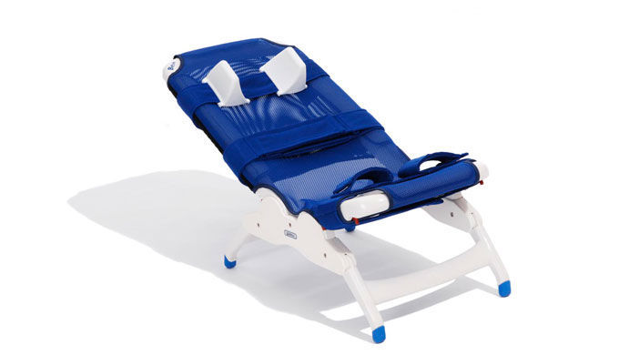 Bath Seat / With Backrest / Pediatric   Rifton Blue Wave (BEN)