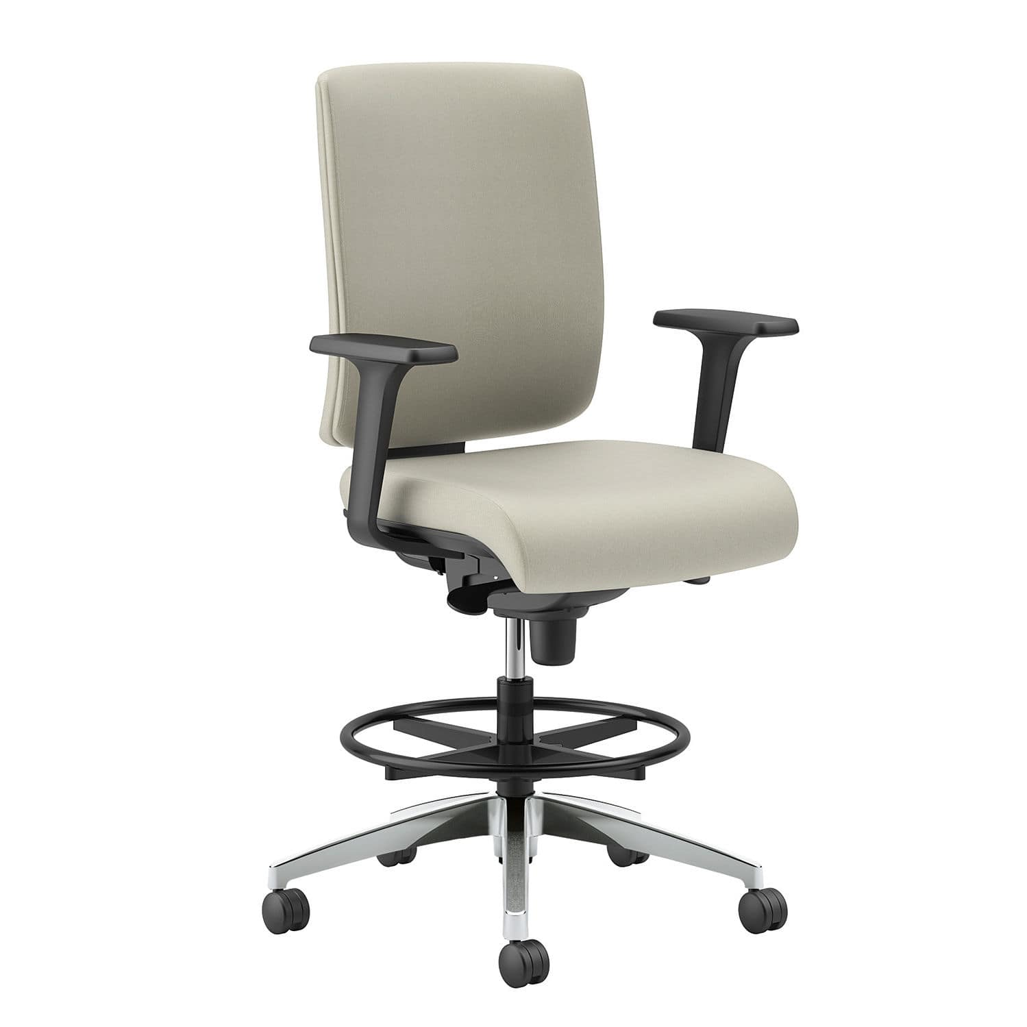 Office Chair / On Casters / With Armrests / Height Adjustable   Lavoro