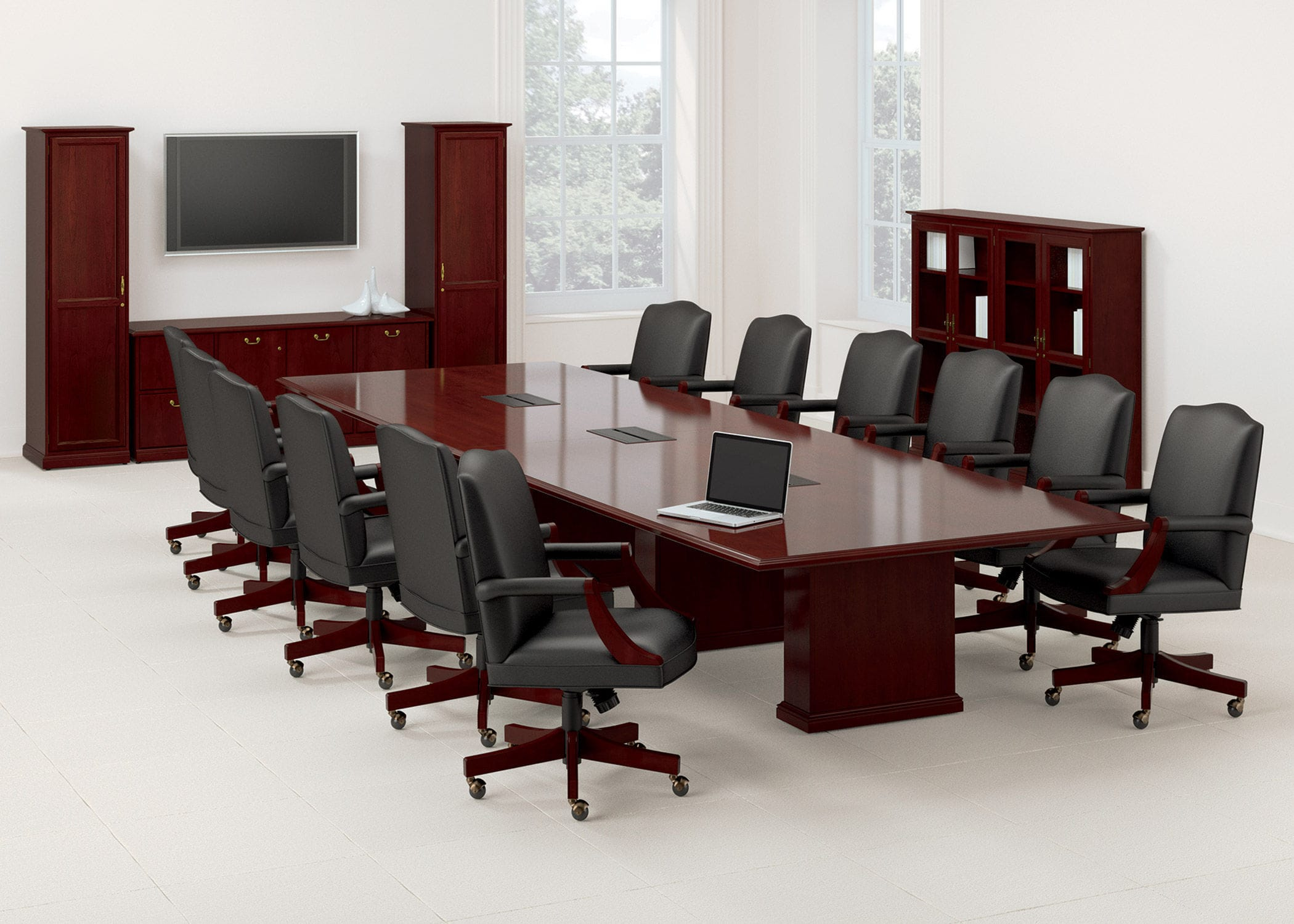 Meeting Room Table Office Rectangular Barrington National - Rectangular conference room table