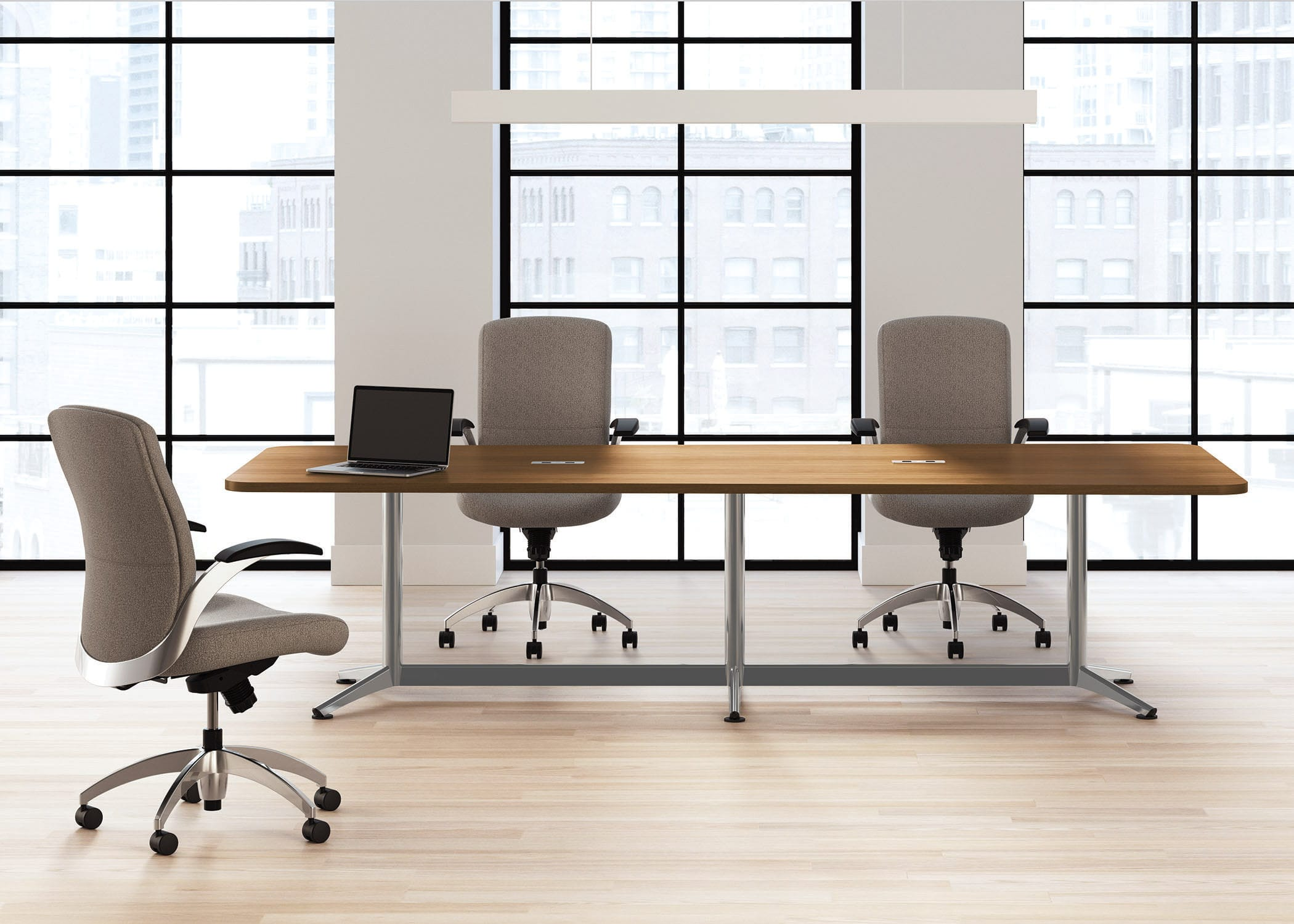 office dining table. Dining Table / For Meeting Rooms Rectangular Round - Footings Office L