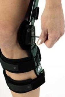 5e0ad54610 Knee orthosis / knee distraction (osteoarthritis) / articulated - OA ...