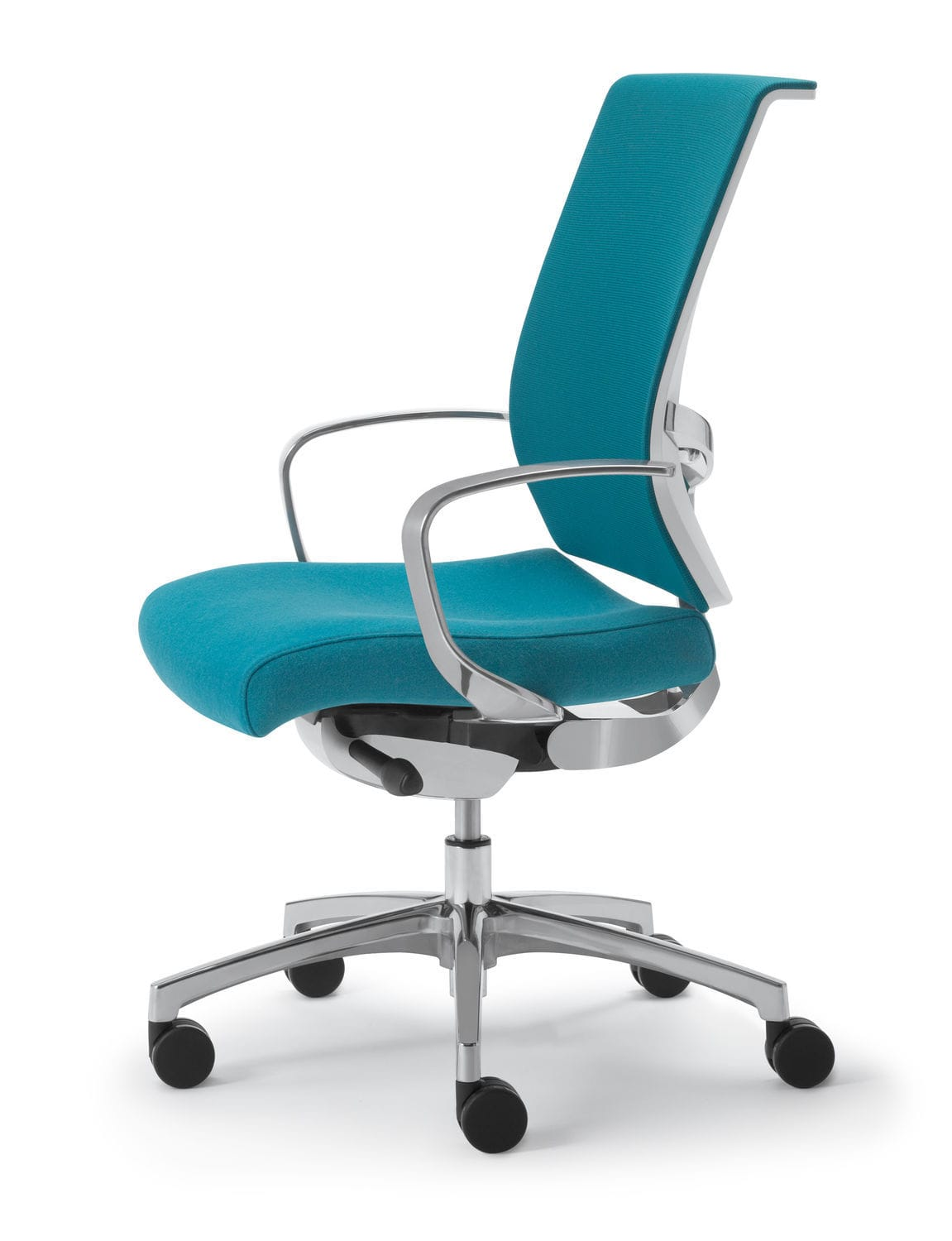 office chair on casters rotating height adjustable pinnacle