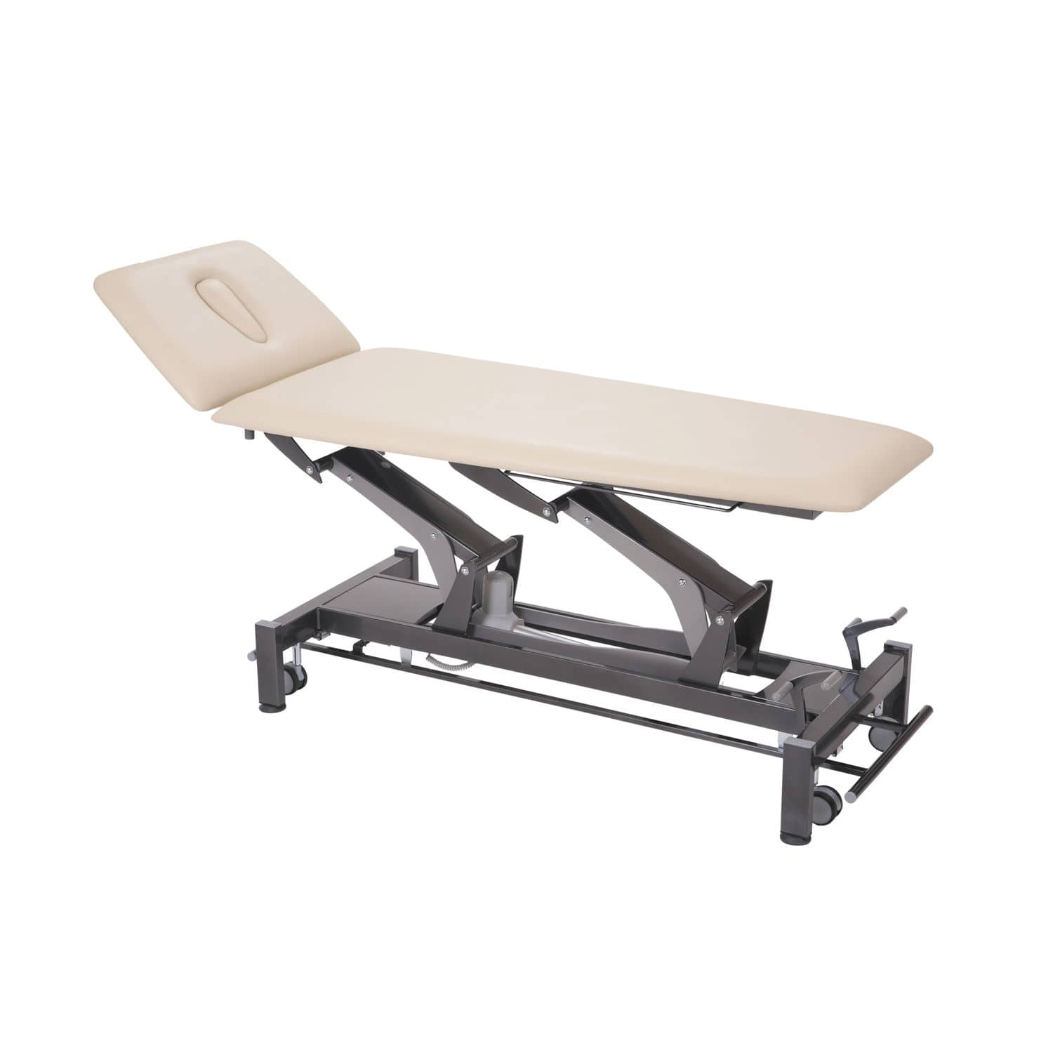electric massage table / on casters / height-adjustable / 2-section -  Montane Tatras