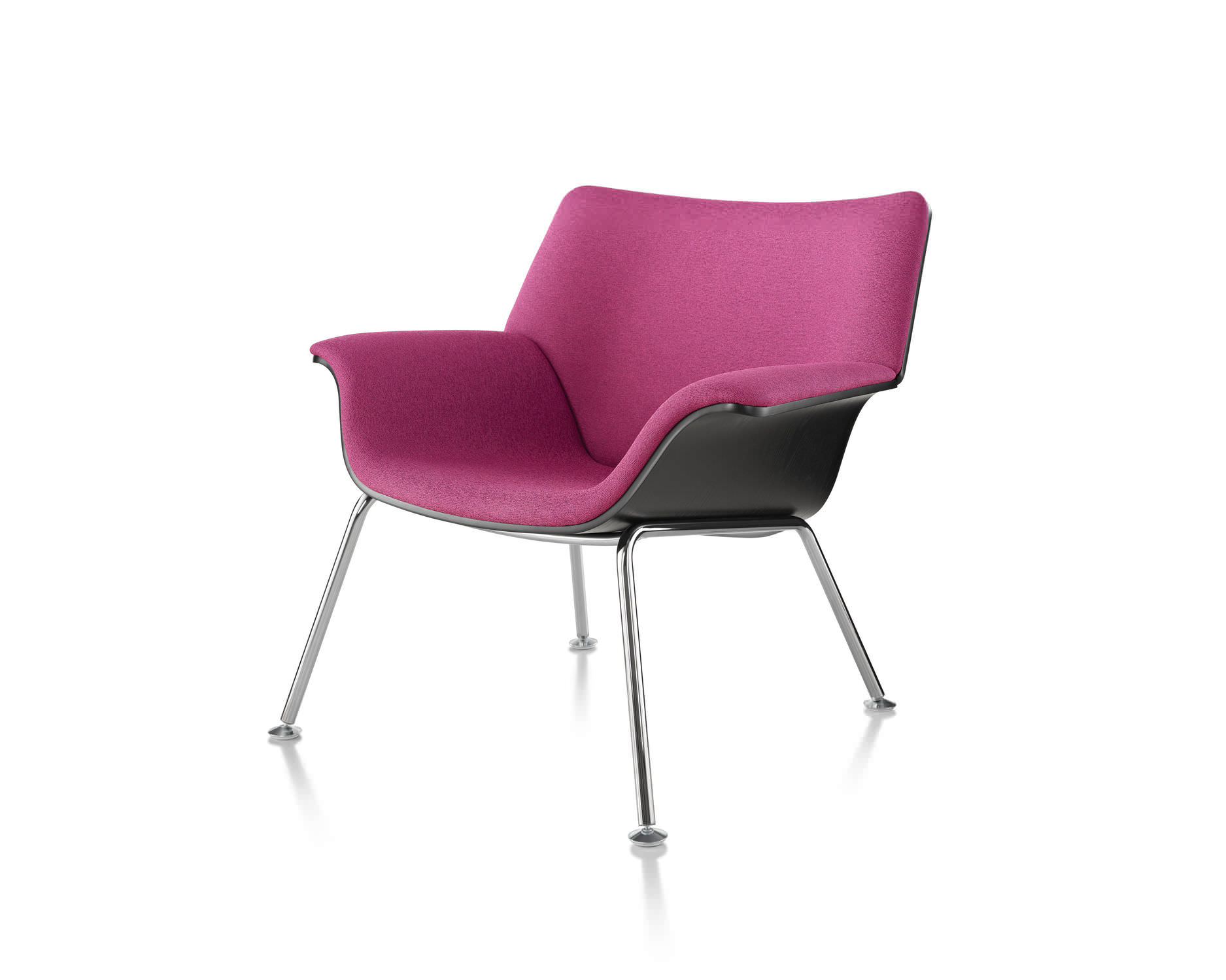 Waiting room armchair Swoop Herman Miller Videos