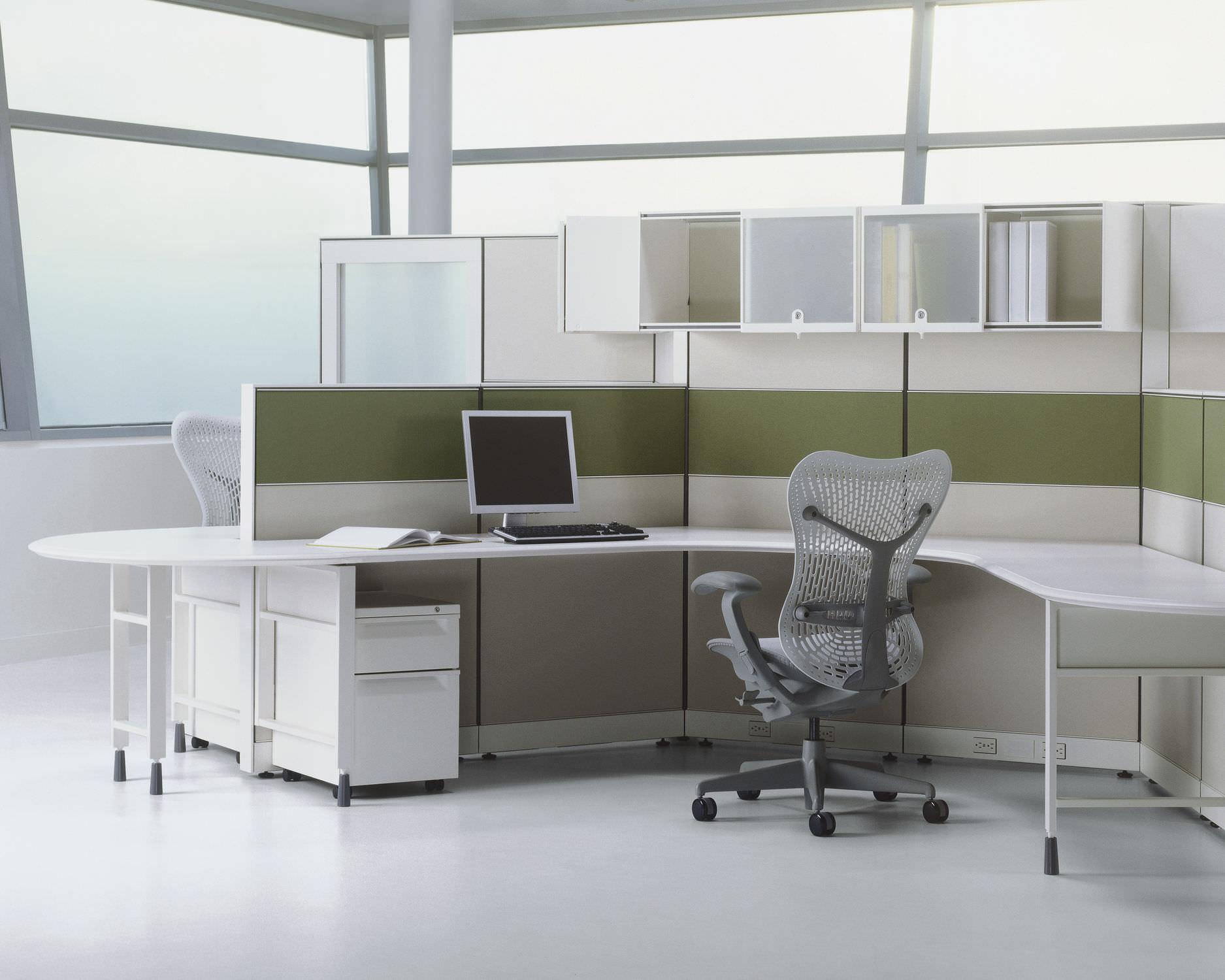 ... Workstation Desk Canvas Office Landscape Herman Miller ...