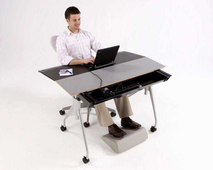 height adjustable desk envelop herman miller - Herman Miller Schreibtisch