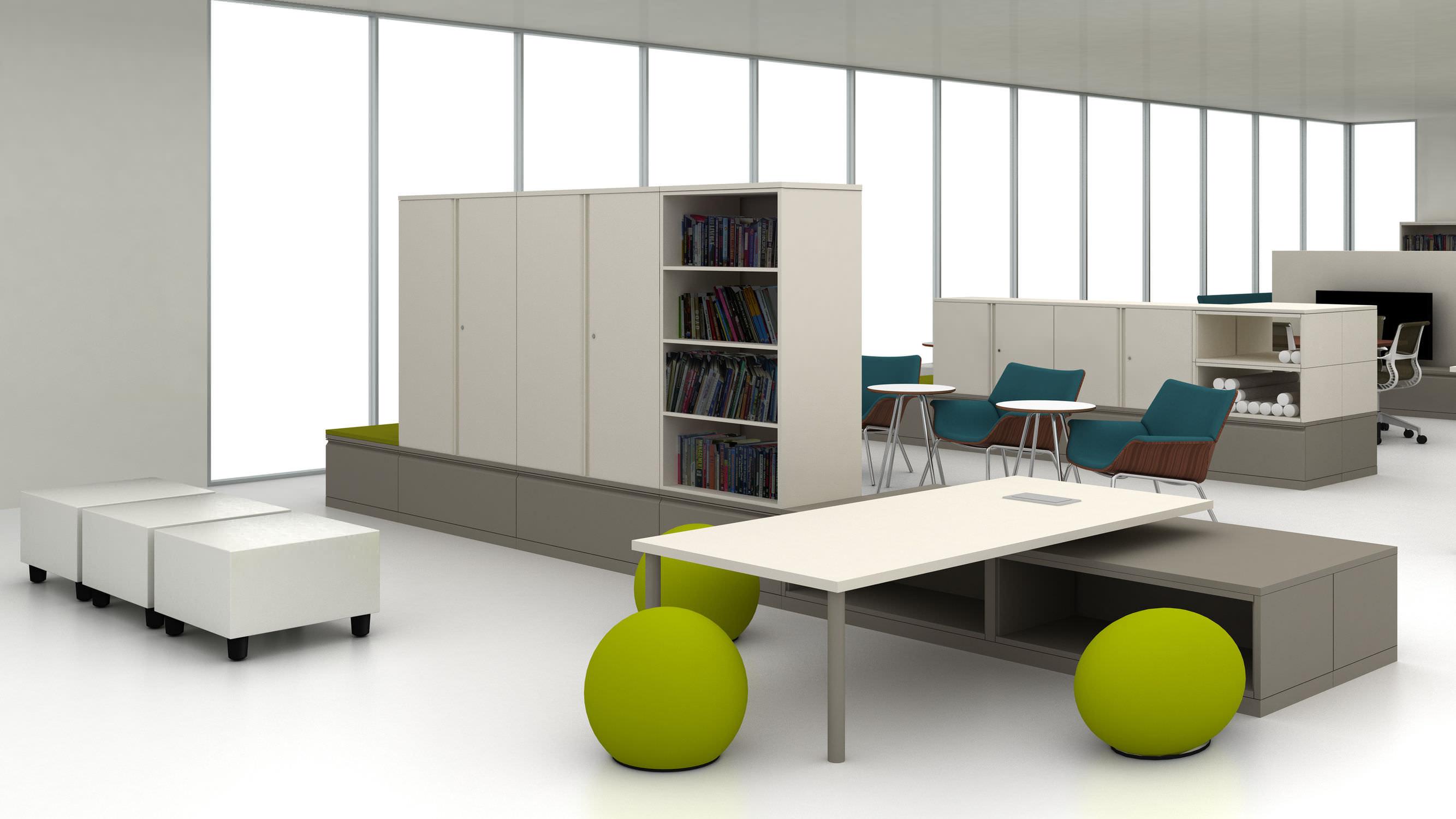 Storage Cabinet / Doctoru0027s Office / With Drawer / 2 Door   Meridian