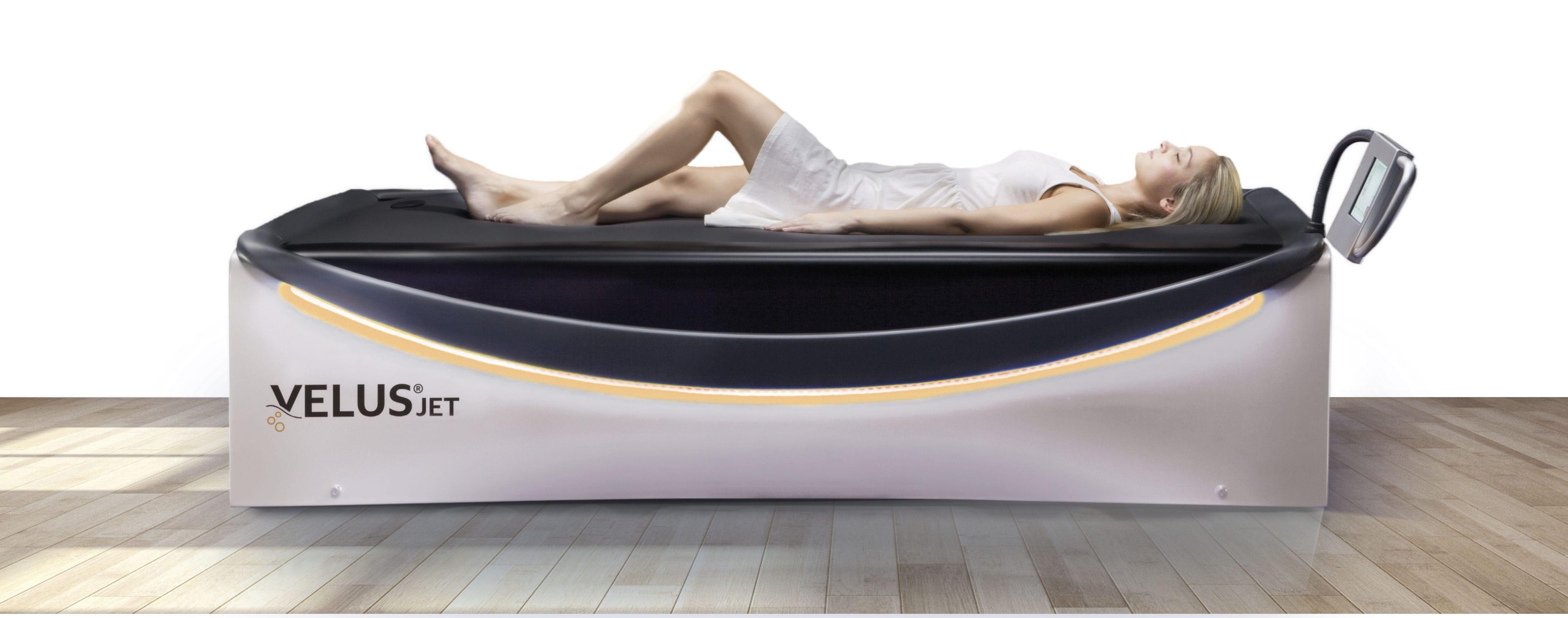 Hydromassage table with water jet - VelusJet® - Böckelt