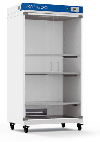 Drying Cabinet / For Laboratory Glassware / Hospital / Stainless Steel    XAS Series