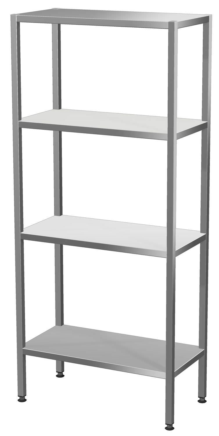 4 shelf shelving unit stainless steel rm 01 rm 02