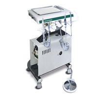 Veterinary dental delivery system / mobile / with LED light