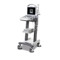 Portable, with trolley veterinary ultrasound system / for multipurpose ultrasound imaging / for small animals
