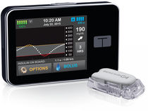 Insulin pump with continuous blood glucose meter / wireless