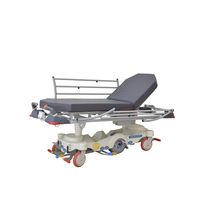 Transport stretcher trolley / motorized / hydraulic / height-adjustable