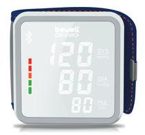 Automatic blood pressure monitor / wrist / Bluetooth