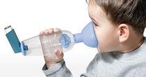 Inhalation chamber with mask / pediatric
