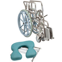 Active wheelchair / shower / commode / folding