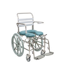 Active wheelchair / shower / commode / height-adjustable