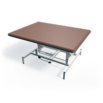 Hydraulic massage table / height-adjustable / 1-section