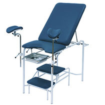 Gynecological examination chair / urological / manual / height-adjustable