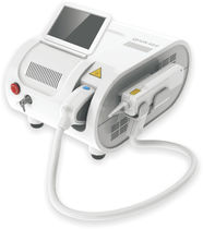 Tattoo removal laser / pigmented lesion treatment / Nd:YAG / tabletop