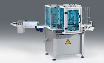 Automatic packaging machine / floor-standing / form-fill-seal / for the medical industry