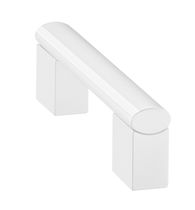 Aluminum door handle / antibacterial / sanitizing