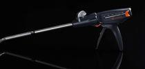 Linear stapler / laparoscopic surgery / cutting / articulated