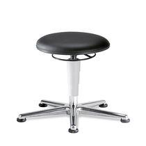 Laboratory stool / height-adjustable