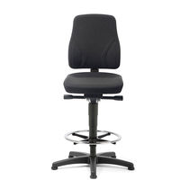 Office chair / with footrest / height-adjustable / ergonomic