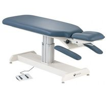 Electric chiropractic table / height-adjustable / 2-section