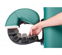 Headrest / for massage tables