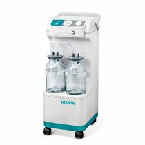 Electric surgical suction pump / on casters / vacuum-powered