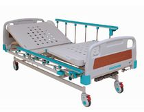Hospital bed / mechanical / height-adjustable / medical