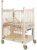 Pediatric bed / hospital / manual / height-adjustable
