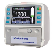1-channel infusion pump / volumetric / adult / with infusion warmer