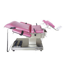Gynecological operating table / electric / height-adjustable / Trendelenburg