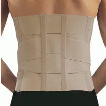 Thoraco-lumbar support belt / adult / semi-rigid